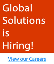Global Solutions is Hiring!